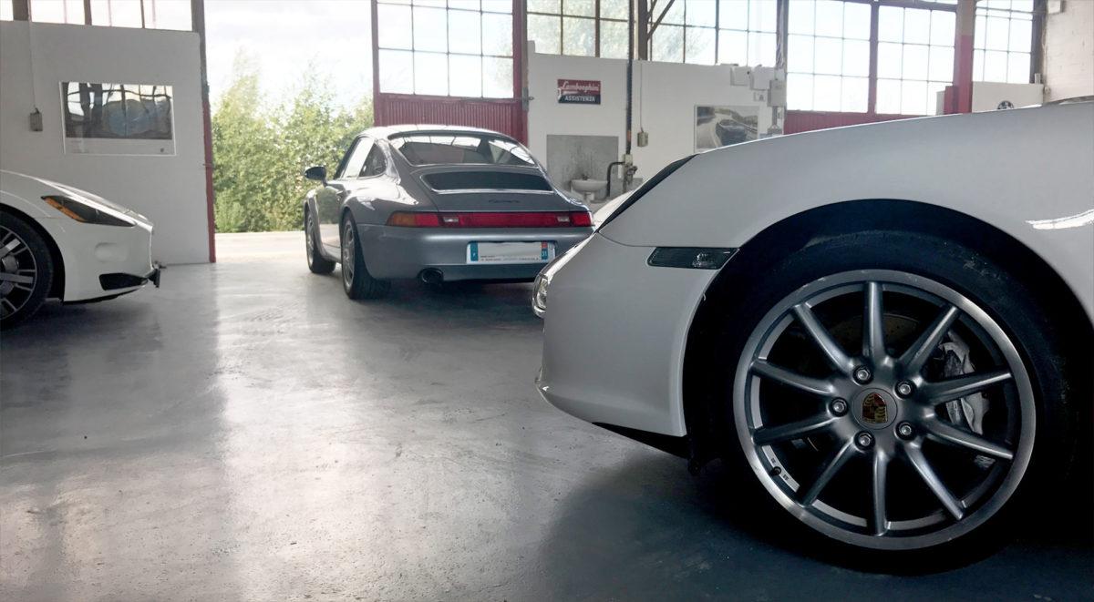 CONTACT Porsche Maserati