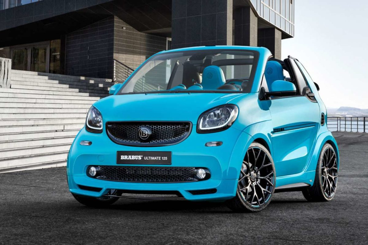 BRABUS SMART Ultimate 125 Devant 2