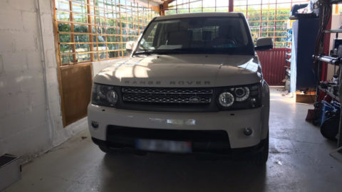 Film de protection Range Rover Sport