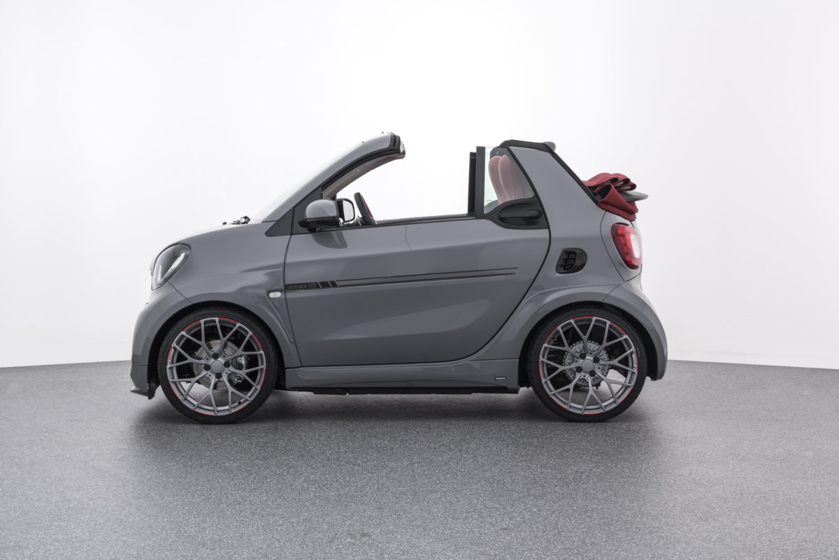 BRABUS SMART Ultimate 125 Côté