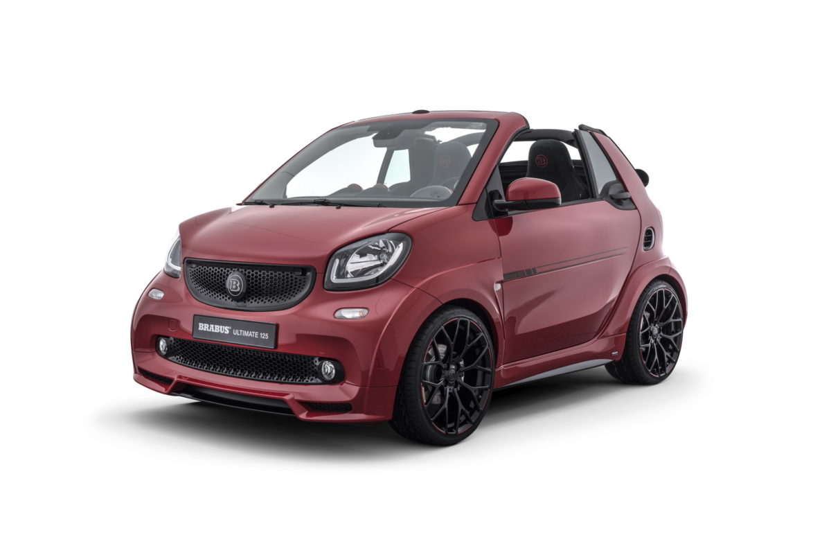 BRABUS SMART Ultimate 125 Devant