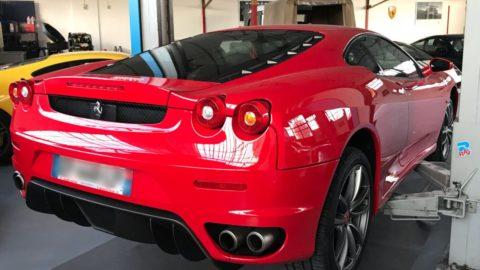 Ferrari F430 Radar de recul