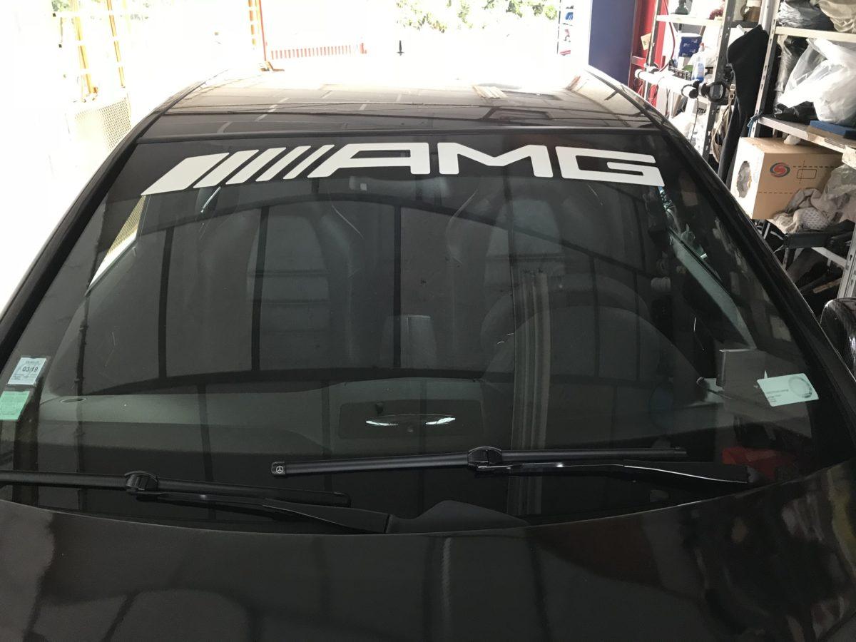 ALAUZY EVO Mercedes C63 AMG Pack carbone logo AMG