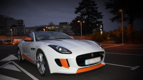 Jaguar F-Type avec un covering partiel by ALAUZY EVO