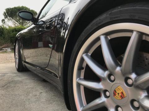 Porsche 997 Carrera 4S pour un traitement céramique Toulouse