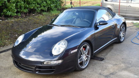 Porsche 997 4S Cabrio Protection Film & Céramique
