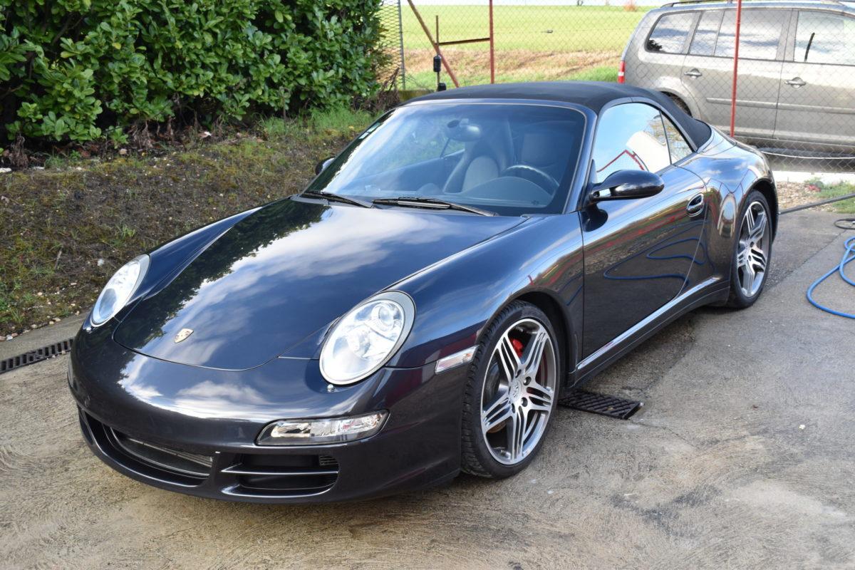 Porsche 997 4S Film PremiumShield & revêtement Crystal céramique Miroir Eclat