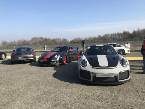Sortie circuit Nogaro Club Porsche