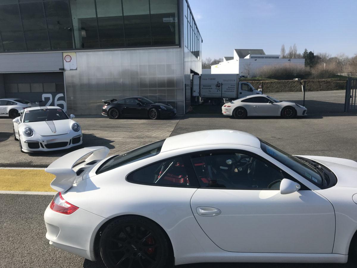Porsche club Toulouse GT3