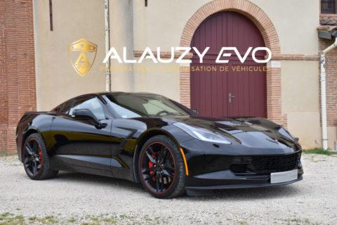 Personnalisation & Protection pour cette sublime Corvette Stingray