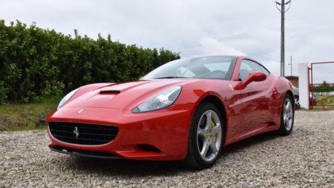 Film de protection voiture sur cette magnifique Ferrari California