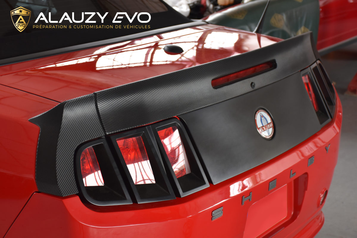 MUSTANG TOULOUSE ALAUZY EVO COVERING TOTAL COVERING CARBONE