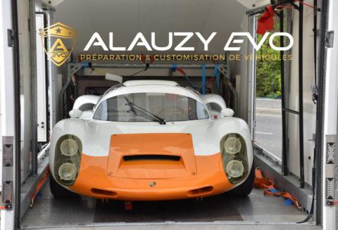 Protection Film carrosserie transparent Porsche 910 1967