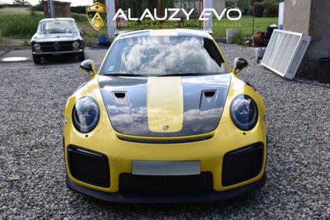 Protection face avant en Film de protection Porsche 991 GT2 RS