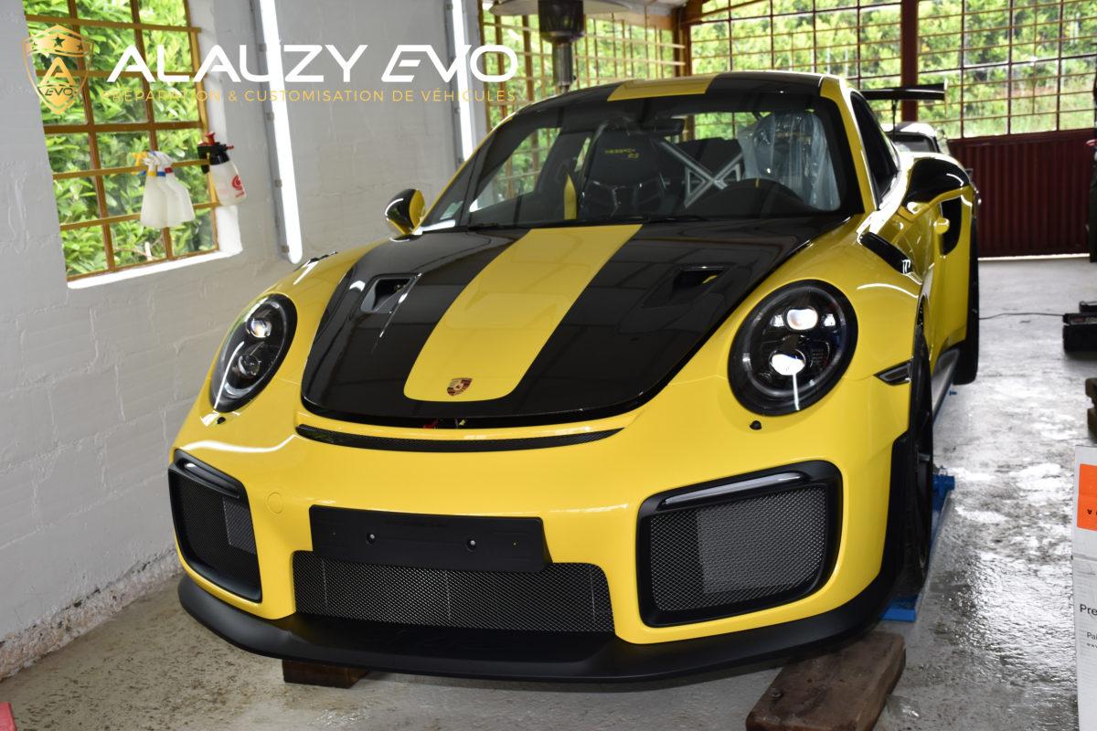 alauzy evo film de protection voiture porsche 991 gt2 rs. Black Bedroom Furniture Sets. Home Design Ideas
