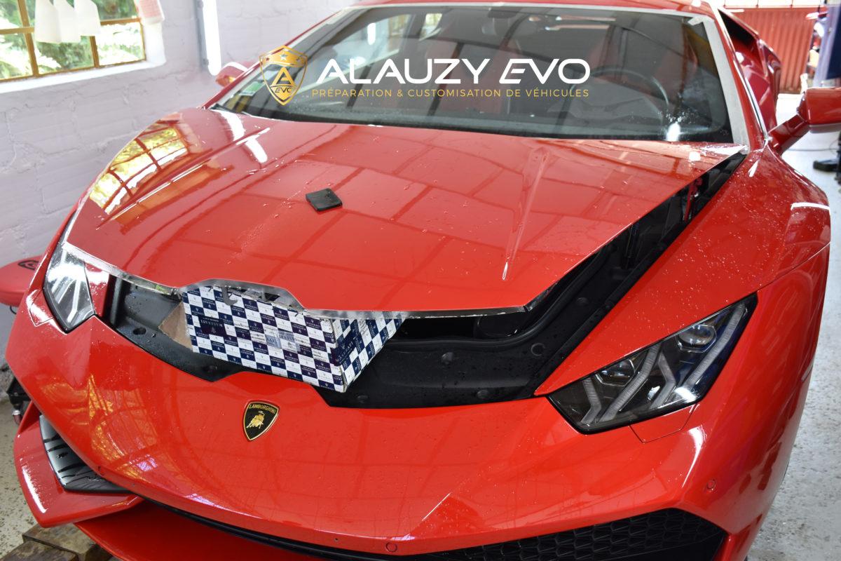 Film de protection Lamborghini Alauzy Evo Covering PremiumShield Ceramique Detailing