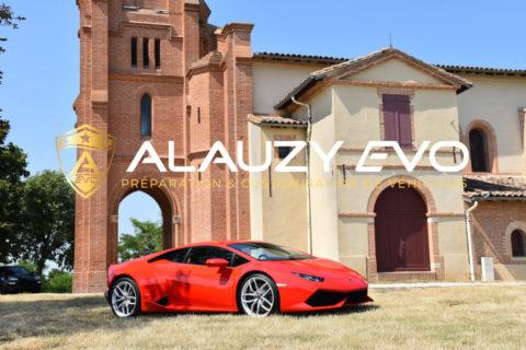 Protection sur une Lamborghini Huracan LP-610-4