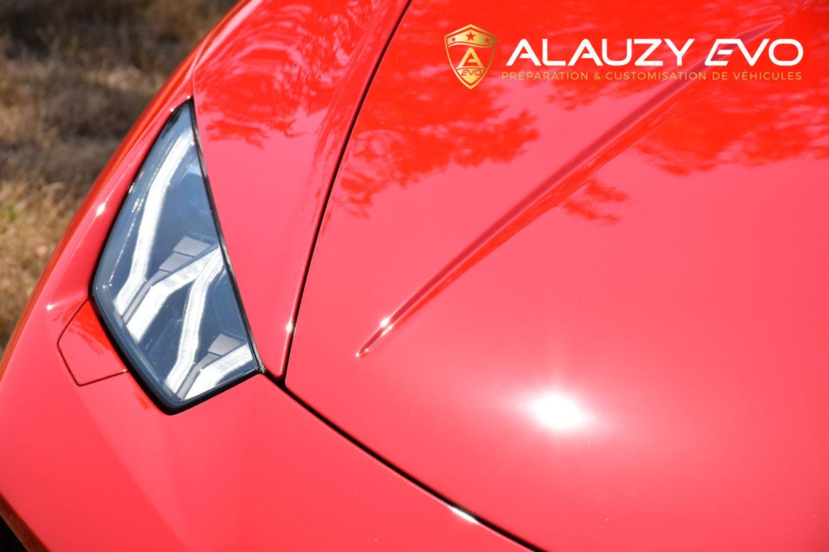 Lamborghini Alauzy Evo Covering PremiumShield Ceramique Detailing Toulouse