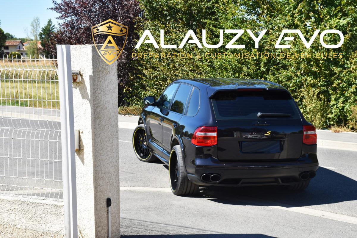 Protection céramique Toulouse ALAUZY EVO TOULOUSE BMW PORSCHE LAMBORGHINI CAYENNE
