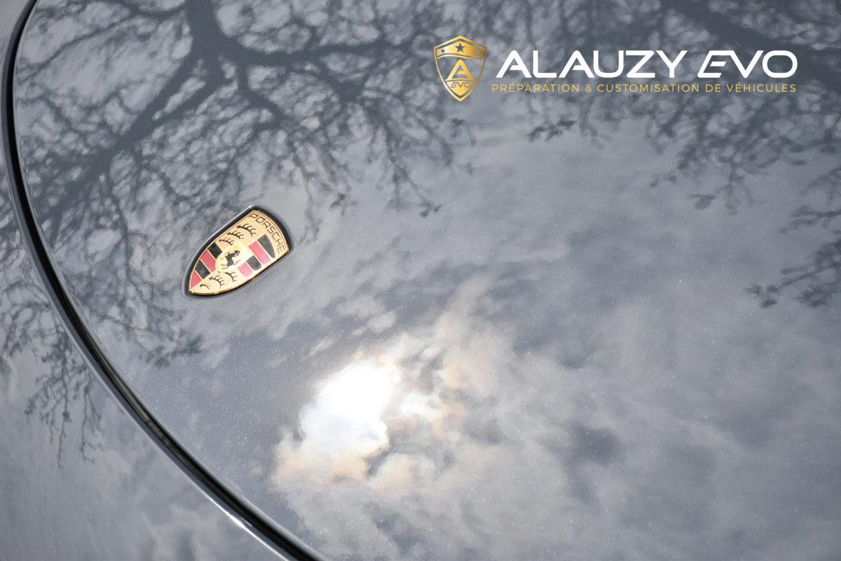 ALAUZY EVO FILM DE PROTECTION PORSCHE TOULOUSE PremiumShield Covering Ceramique Detailing