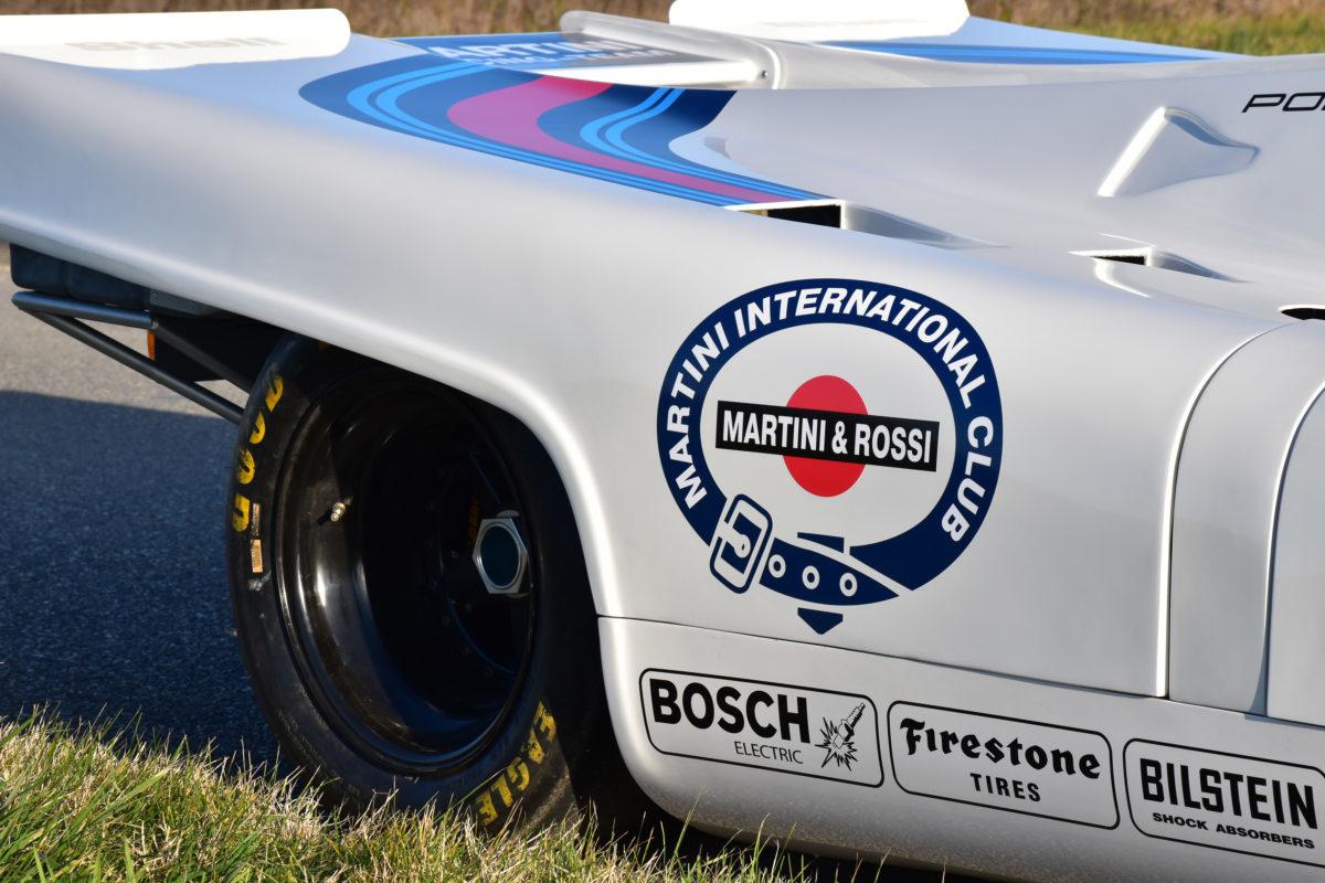 PORSCHE 917 RACING MARTINI ALAUZY EVO PERSONNALISATION COVERING TOTAL