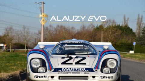 Personnalisation totale et complexe pour cette démoniaque Porsche 917, gagnante des 24H du Mans en 1971