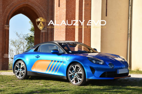Film de protection Covering Alpine A110 2019