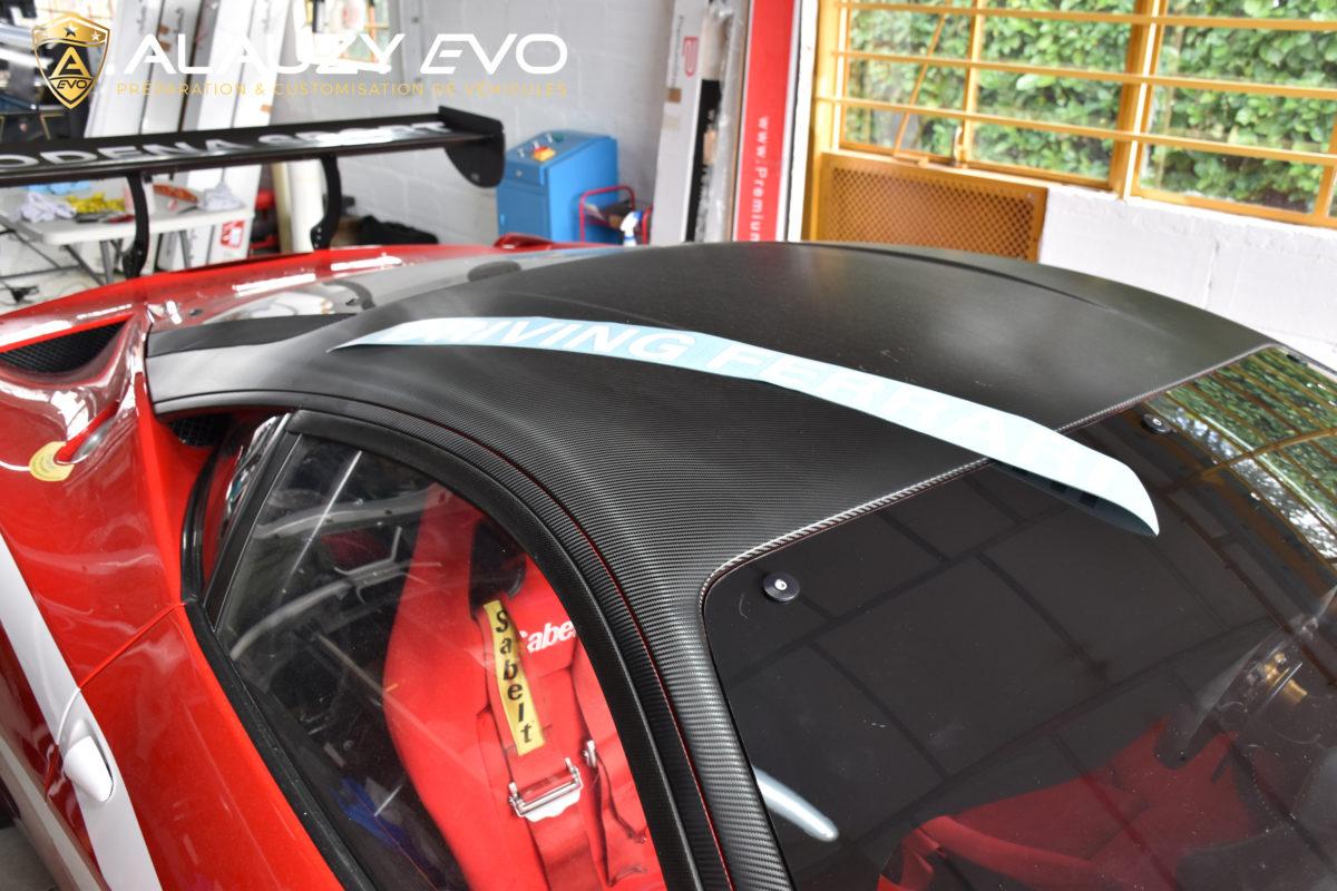 Toulouse Ferrari Covering Publicité