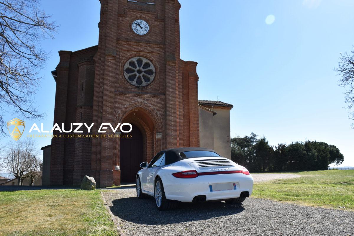 Céramique Carrosserie Porsche Toulouse