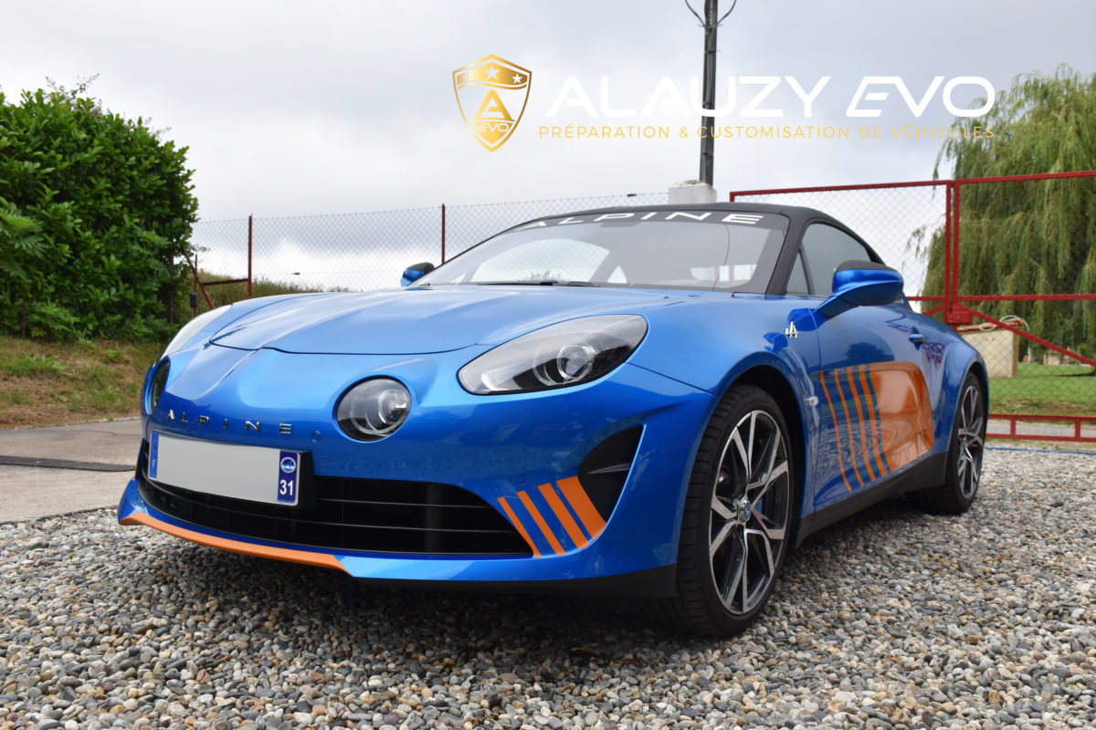 Alpine A110 Toulouse Wrapping