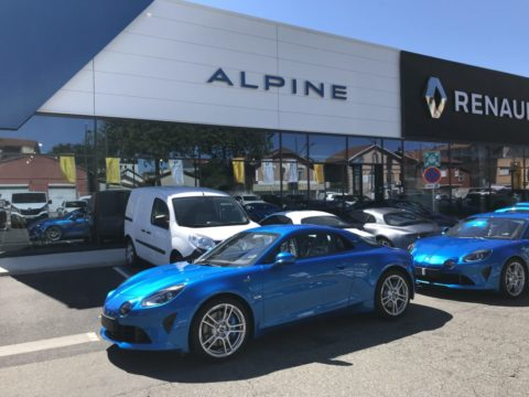 Film de protection face avant Alpine A110 2019