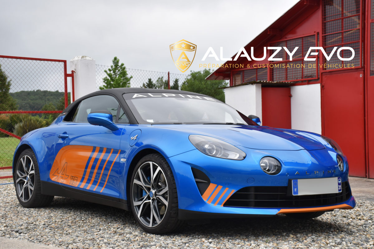 Alpine A110 Toulouse Covering