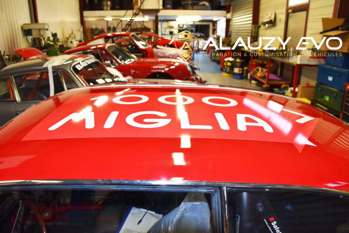 Alfa Roméo Giulia Course Historique Covering