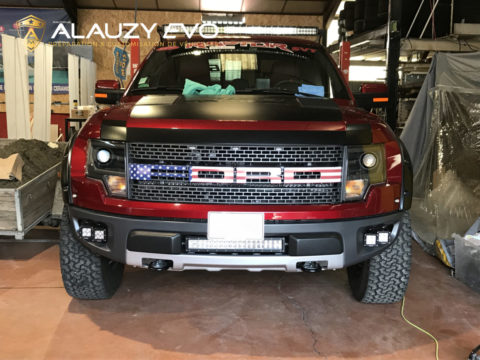 Customisation Covering Ford Ranger