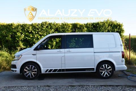 Suspensions Bilstein & Eibach pour un VW Transporter