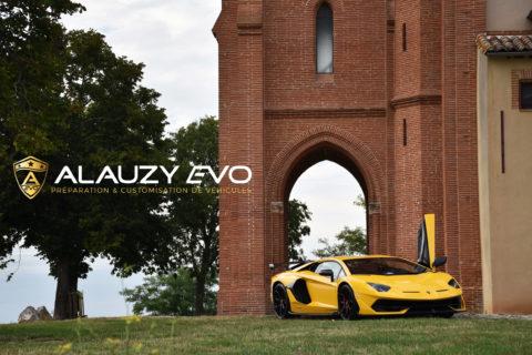 Film de protection Lamborghini Aventador SVJ