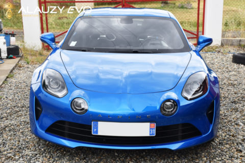 Film de protection Face avant Alpine A110 Toulouse