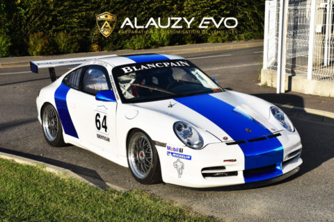 Customisation Porsche 996 GT3 Cup